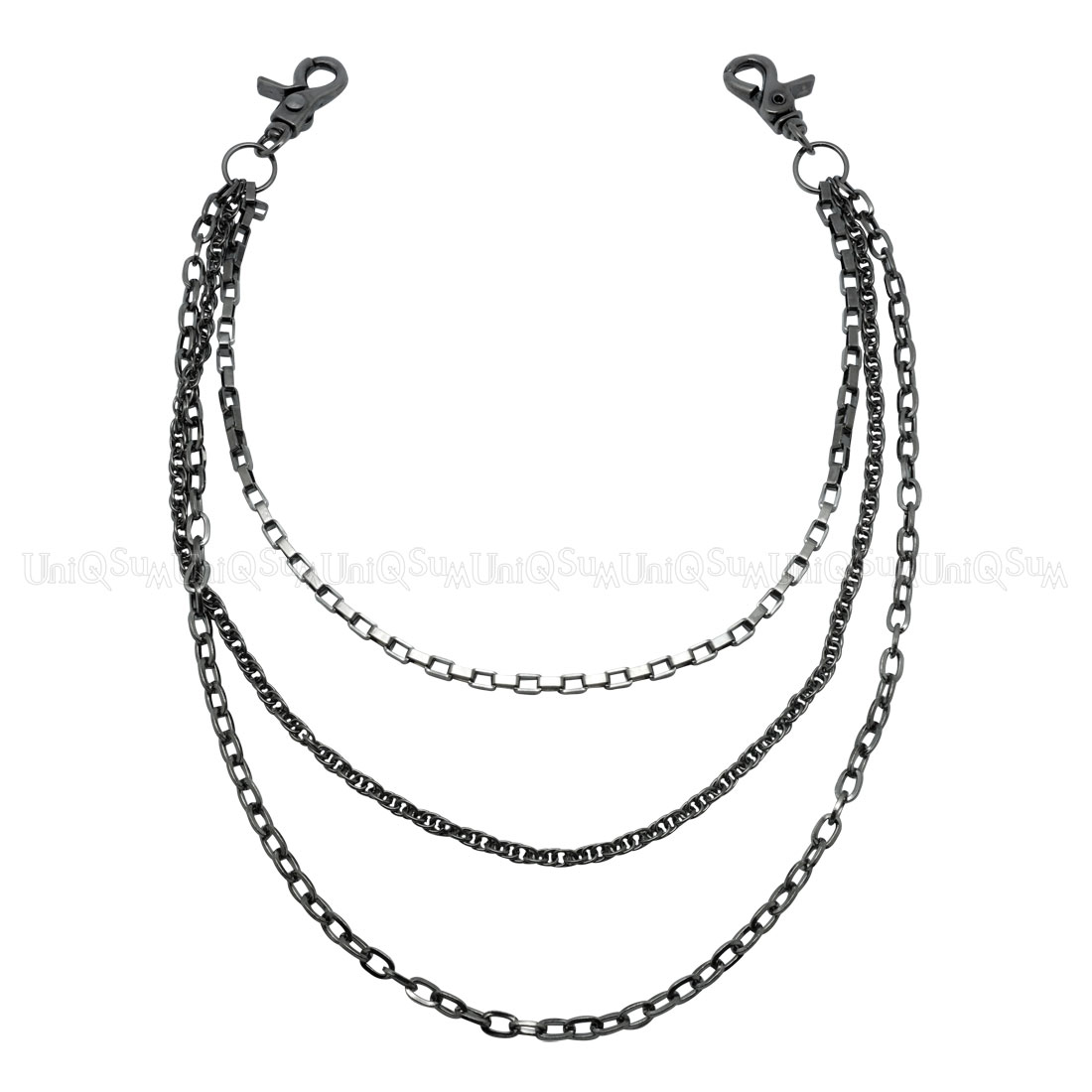 gem lightweight this chain a necklace pin polish faux single features high chains