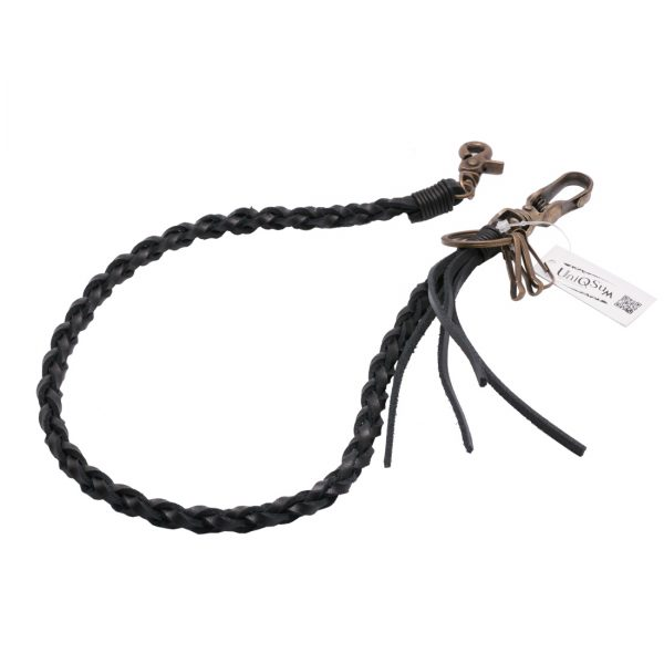 leather wallet chain Vintage black leather wallet chains genuine leather chain wallet