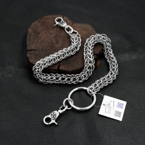 monster wallet chain thick wallet chains biker jewelry hiphop punk jean chains keyring