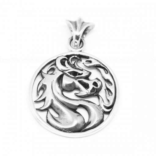 Sterling silver charms Pendant Horse sterling silver pendant for mens necklaces