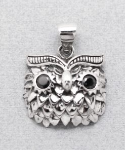 owl pendant owl charms for necklaces 925 sterling silver pendants