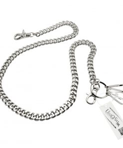 curb-cuban-chains-silver-metal-wallet-chain-dog-collar-leash-cut-link-wallet-chains-biker-chain