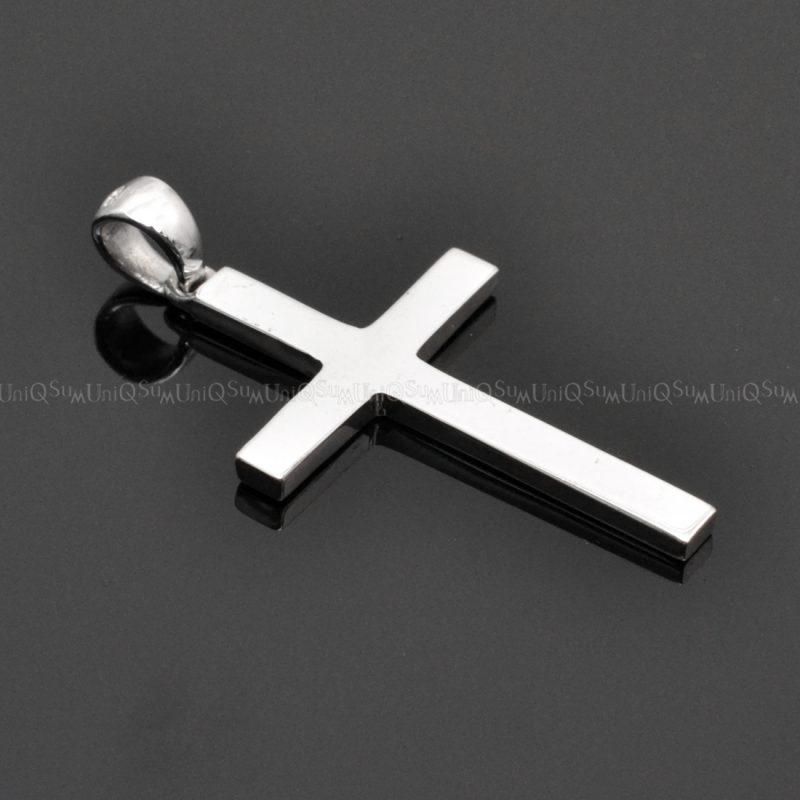 Sterling silver charms cross Pendant cross necklaces silver charms