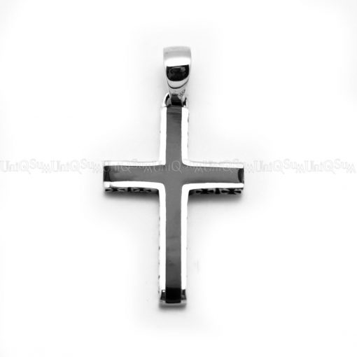 Cross charms Decoration epoxy Cross silver pendant for necklace