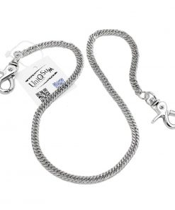 wallet chains silver metal wallet chain lightweight cut leash chains biker jewelry rock jewelry